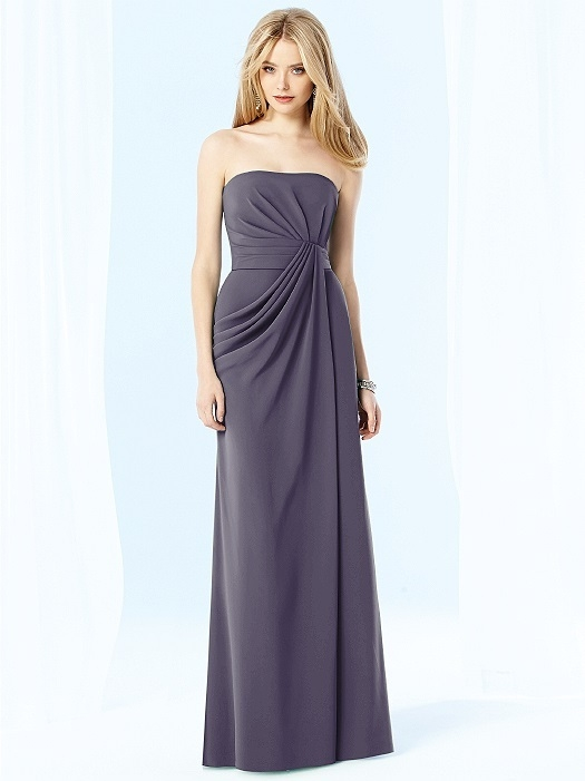 After Six Bridesmaids Style 6700 in stormy