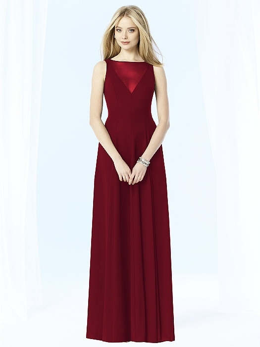 After Six Bridesmaids Style 6703 in valentine