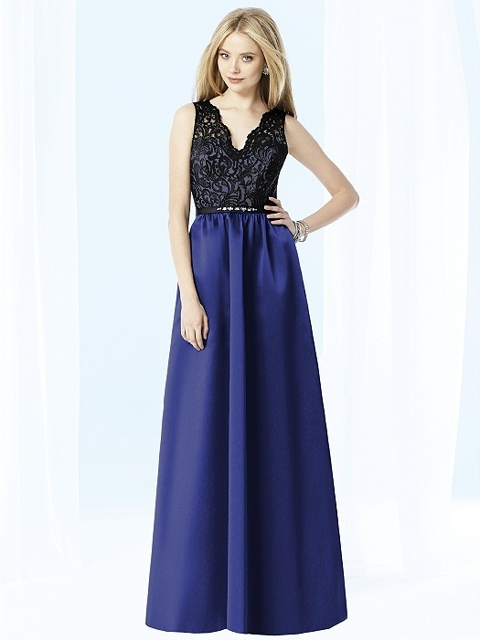 After Six Bridesmaids Style 6708 in sailor