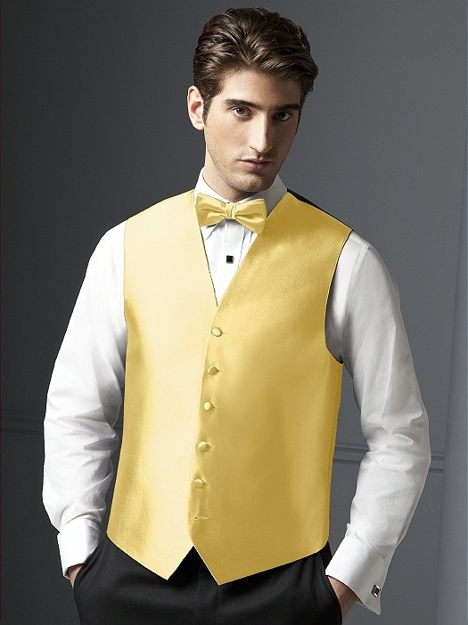 Aries Vest for Men in buttercup