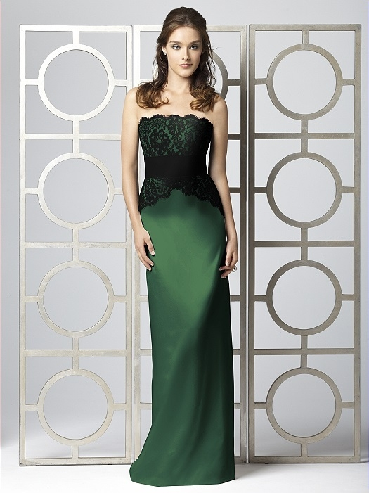 Dessy Collection Style 2849 in Hampton Green