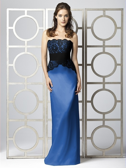 Dessy Collection Style 2849 in Lapis
