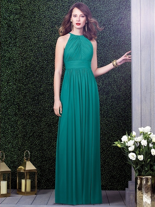 Dessy Collection Style 2918 in jade