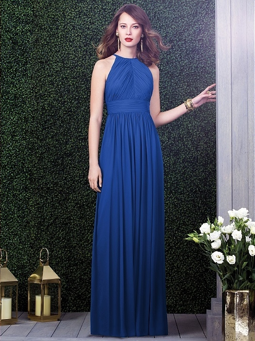 Dessy Collection Style 2918 in sapphire