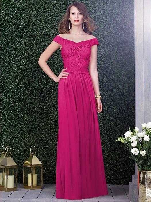 Dessy Collection Style 2919 in azalea