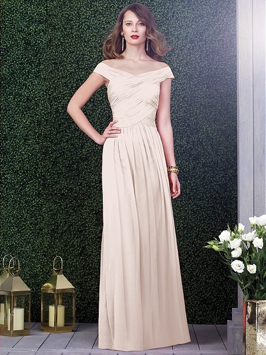Dessy Collection Style 2919 in blush