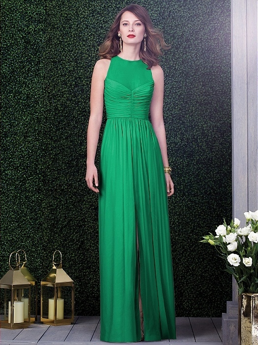 Dessy Collection Style 2920 in PANTONE Emerald