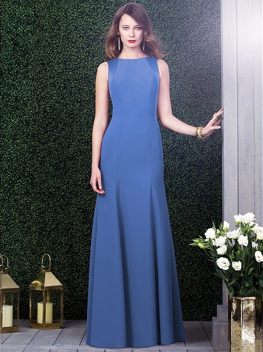 Dessy Collection Style 2923X in cornflower