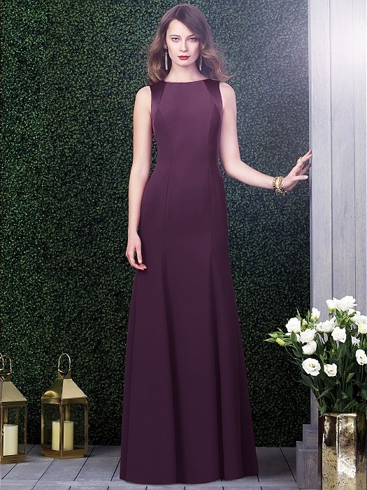 Dessy Collection Style 2923X in eggplant