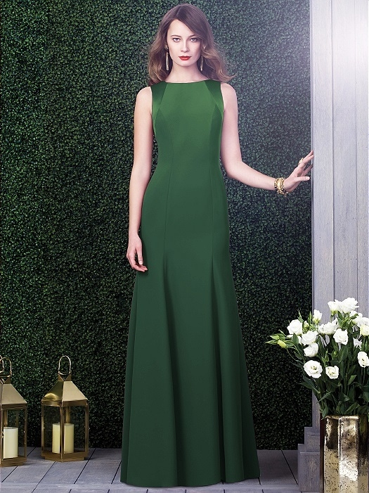 Dessy Collection Style 2923X in Hampton Green