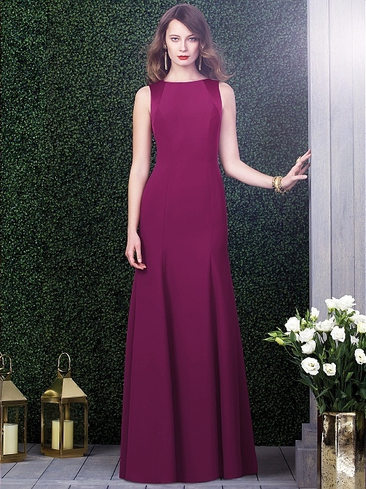 Dessy Collection Style 2923X in merlot