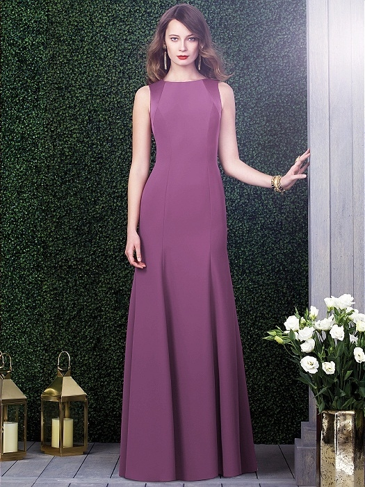 Dessy Collection Style 2923X in Radiant Orchid
