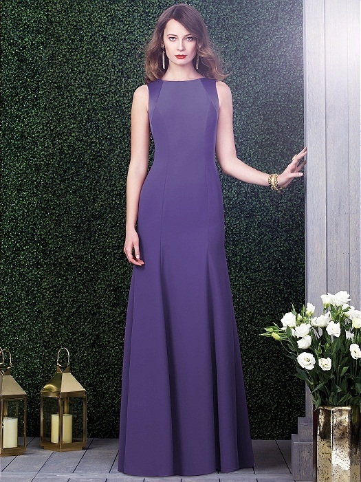Dessy Collection Style 2923X in regalia