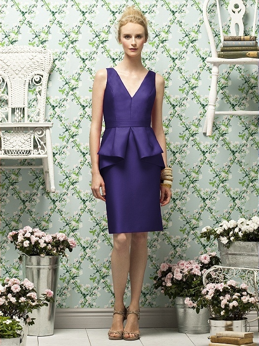 Lela Rose Style LR186 in grape