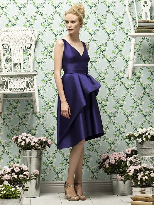 Lela Rose Style LR187 in grape