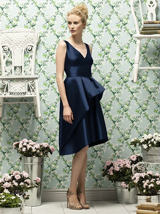 Lela Rose Style LR187 in midnight
