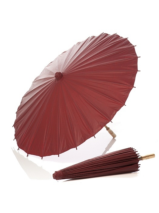 PANTONE WEDDING™ Parasol in claret