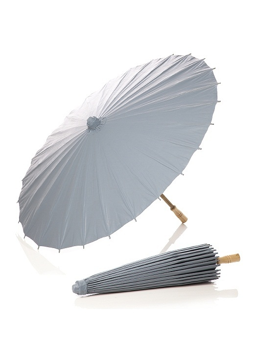 PANTONE WEDDING™ Parasol in platinum