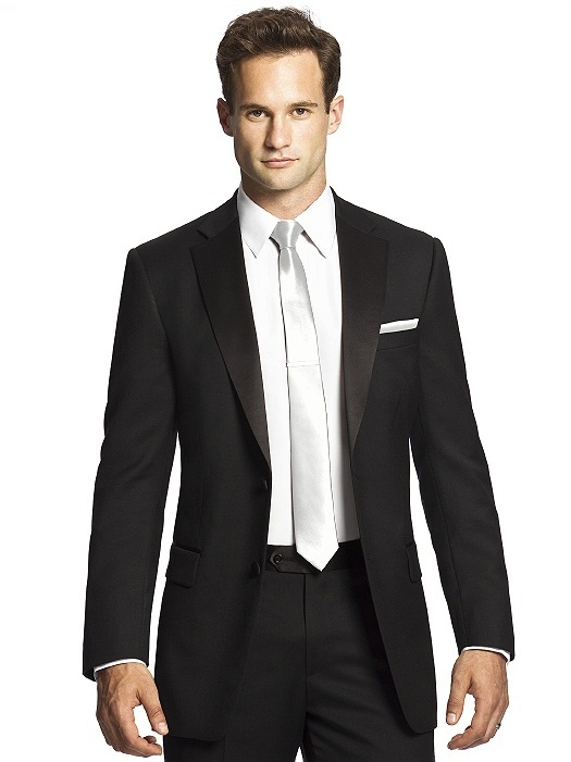 Paragon Skinny Tie in white
