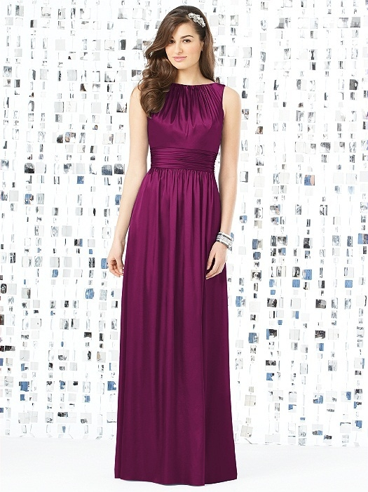 Social Bridesmaids Style 8145 in merlot