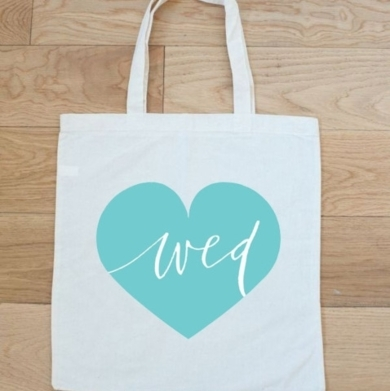 Wed Tote Bag
