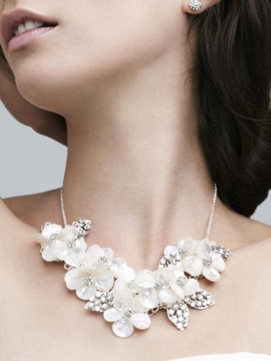 Petal Bib Necklace