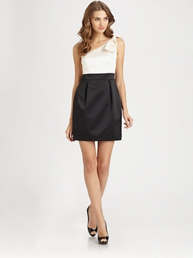 Asymmetrical Bow Dress