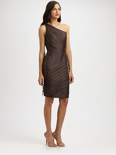 Asymmetrical Organza Dress