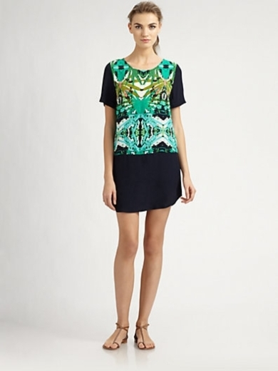 Belem Printed Shift Dress