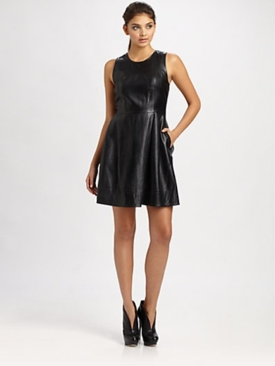 Belle Leather Dress