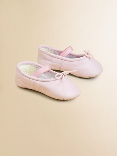 Infant's Arabella Leather Ballet Flats