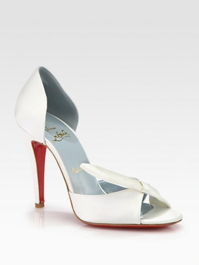 Livre Satin Bridal Pump