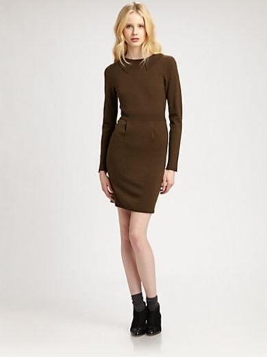 Merino Long-Sleeve Dress