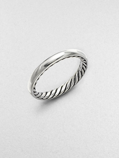 Sterling Silver Smooth Stackable Ring