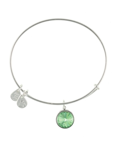 Alex and Ani August Birthstone Bangle