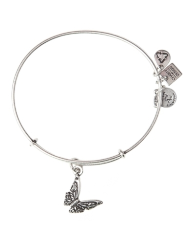 Alex and Ani Butterfly Bangle