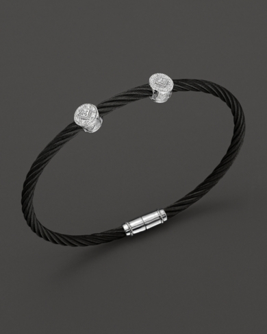 Charriol Celtic Noir Round Station Bangle