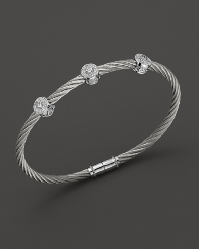 Charriol Classique 3 Round Station Bangle