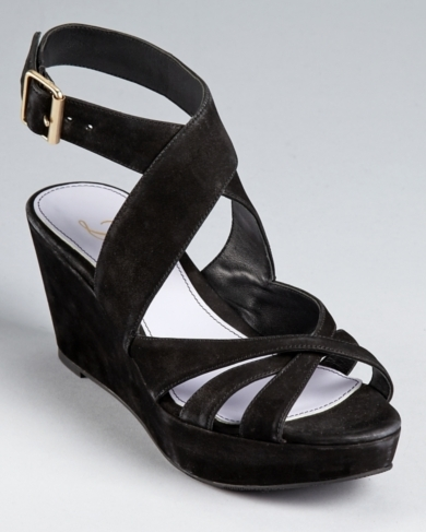 Delman Sandals - Clara Platform Wedge