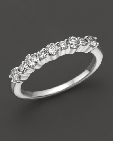 Diamond Band in 14K White Gold, 0.50 ct. t.w.