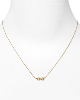 Dogeared Gold Infinite Love Necklace, 18