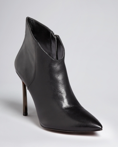 Enzo Angiolini Pointed Toe Dress Booties - Imbra High Heel