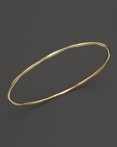 Ippolita 18K Yellow Gold Squiggle Bangle