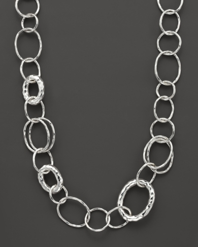 Ippolita Sterling Silver Short Necklace with Bastille Links