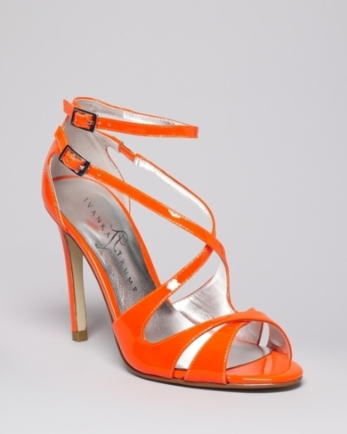 IVANKA TRUMP Strappy Sandals - Helice High Heel