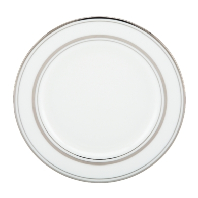 kate spade new york Library Lane Platinum Butter Plate