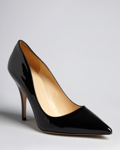 kate spade new york Pointed Toe Pumps - Licorice High Heel
