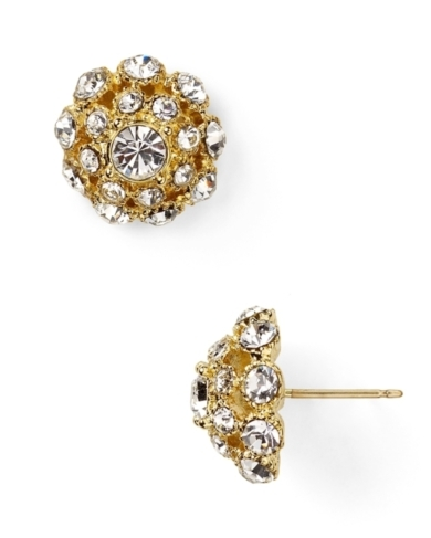 kate spade new york Putting On The Ritz Small Stud Earrings