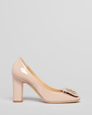 Salvatore Ferragamo Pumps - Rebi Gancio Flap High Heel