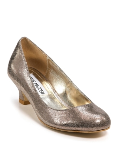 Steve Madden Girls' Ultra Patent Heel - Sizes 1-5 Child